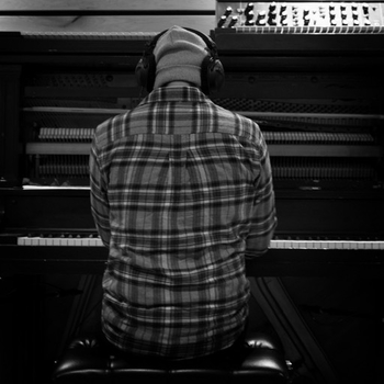 Mark at piano